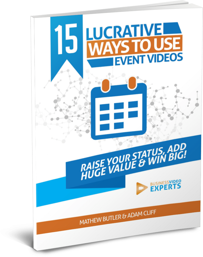 15 lucrative ways to use event videos ebook cover