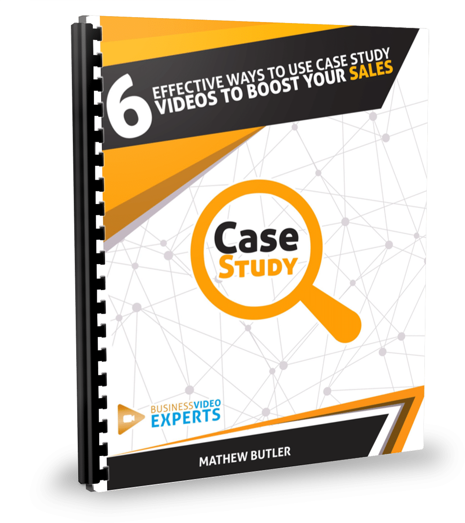 6effective ways to use case study videos ebook cover